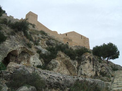 Castle at Castalla