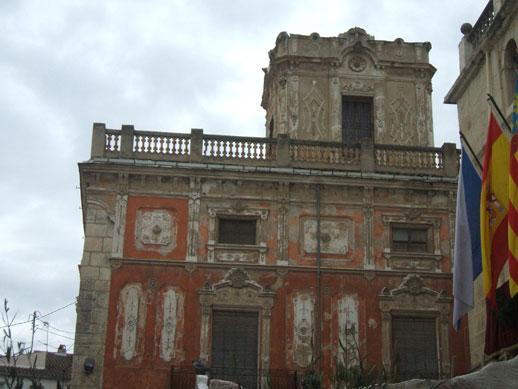 Castalla - old house