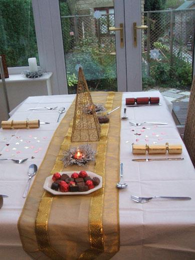 Xmas table