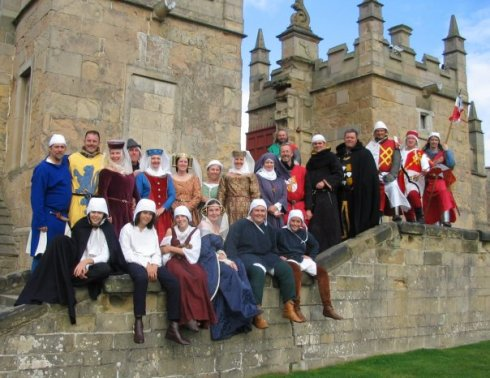 Order of Fighting Knights at Bolsover Castle