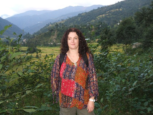Me in the foothills of the Himalayas