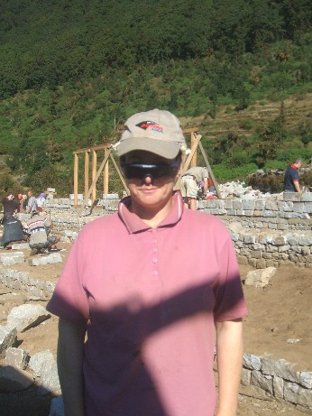 Alison the builder - can she fix it - yes she can ! Well she can move it anyway