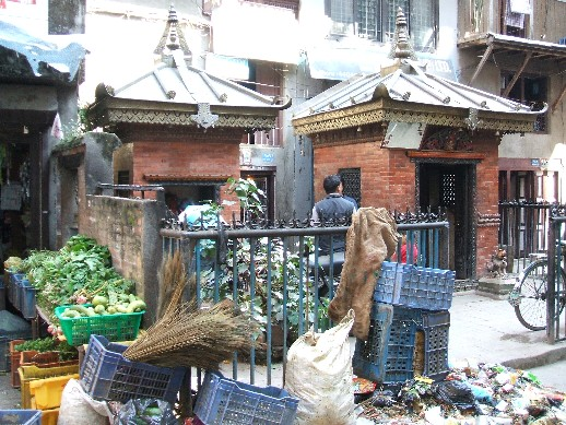 Hindu shrines in the city