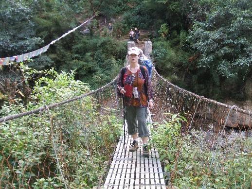 Intrepid bridge crossing