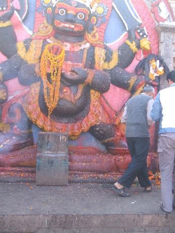 A shrine to Shiva