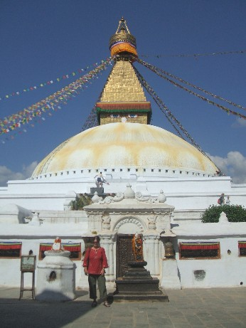 The Boudanath Stupa