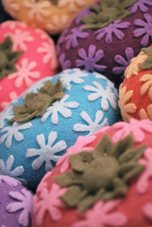 Some of Jen's pincushions