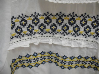A peasant style top