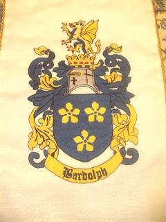 Lord Bardolph's heraldry
