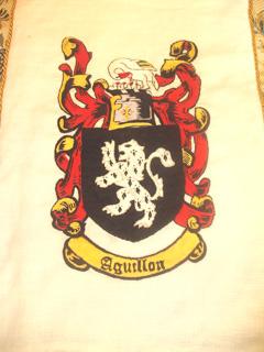 Lady Bardolph's heraldry