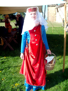 Lady Bardolph at Bolsover Castle
