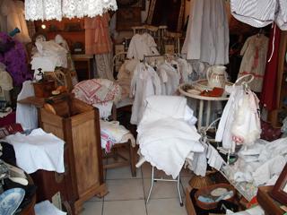 The whitework stall