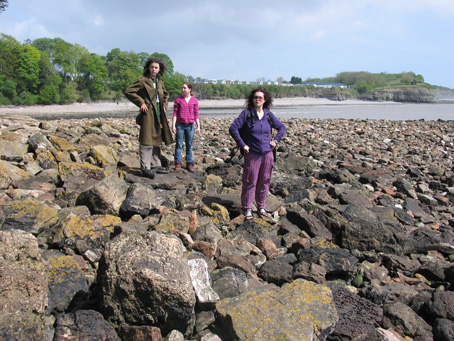 Us at Lavernock Point