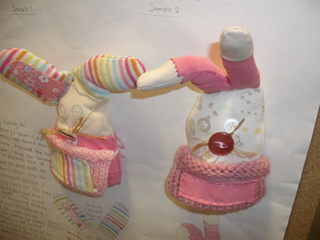 Development work on soft toys