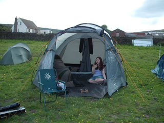 Our little weekend away tent