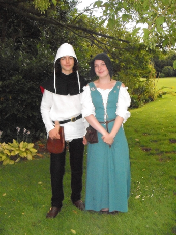 Ellen and Jacob in peasant dress