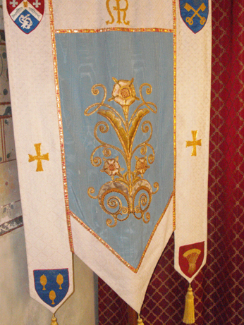 The same motif on a beautiful banner