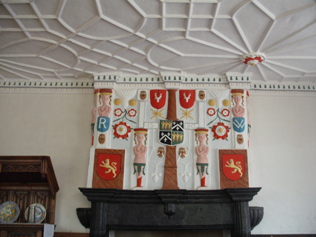 An example of the amazing plasterwork