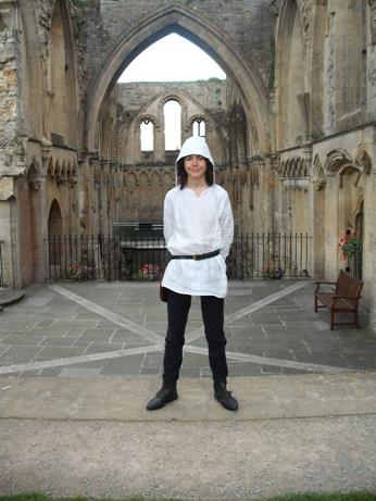 Jacob at Glastonbury without his chaperon