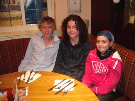 Sam, Jake and Sarah