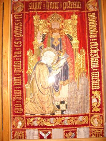 Goldwork banner