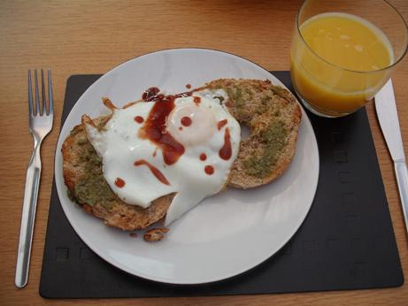 Sunday's leisurely breakfast
