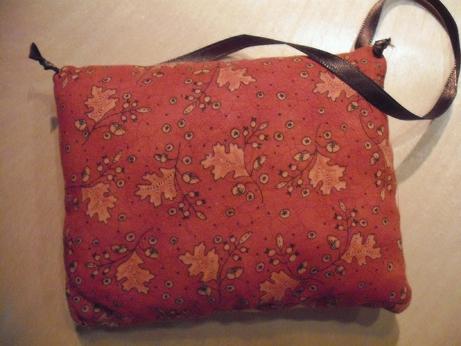 Cute oak leaf and acorn backing fabric