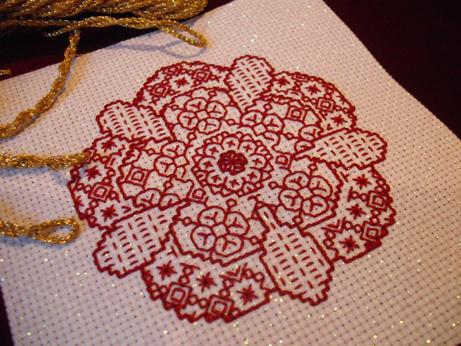Denise ornament