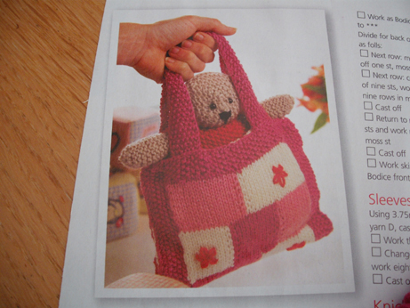 Teddy bag 1