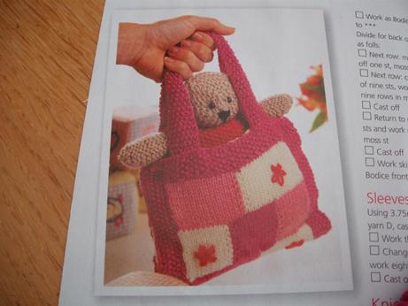 Teddy bag 1