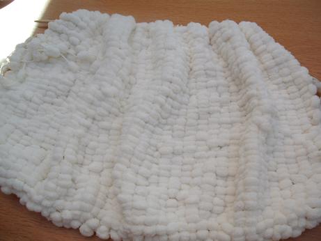 Snowball blanket