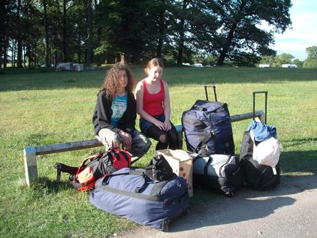 Tatton - kids and luggage