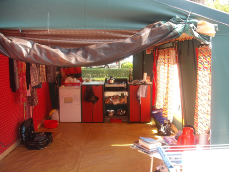 Italy 17 - inside tent