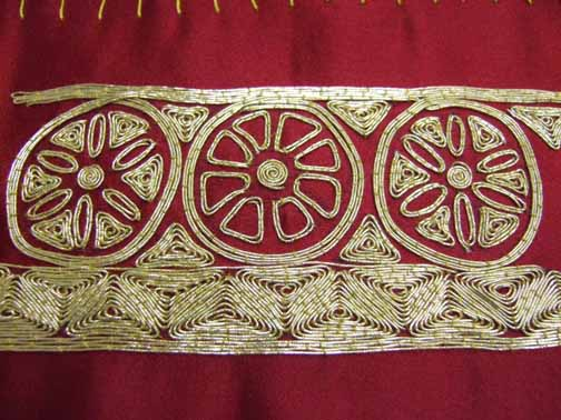 couched goldwork