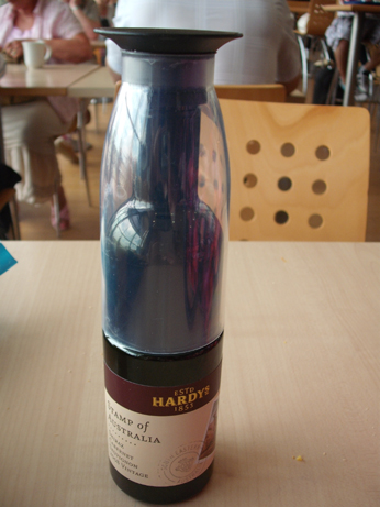 Glamping 2 - small wine bottle
