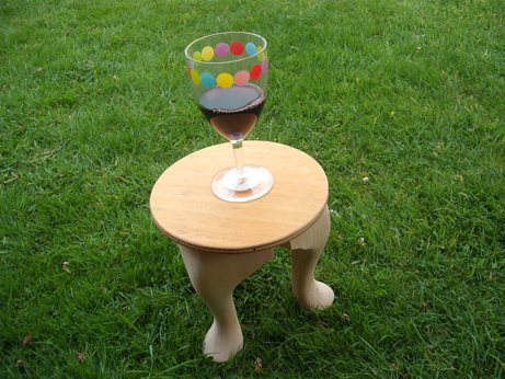 Glamping 3 - wine table
