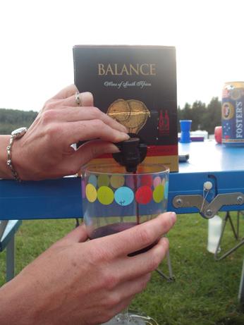 Glamping 5 - wine box
