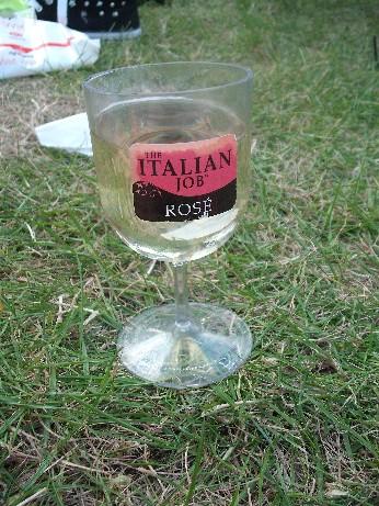 Glamping - Chris's glass