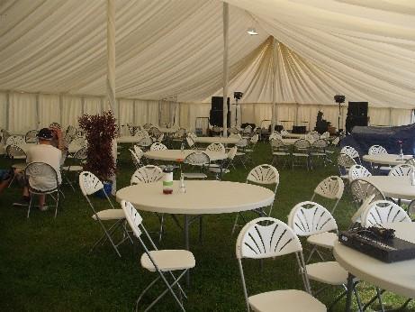 Glamping - Tribfest tent