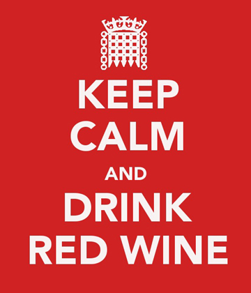 Keep calm - redwine