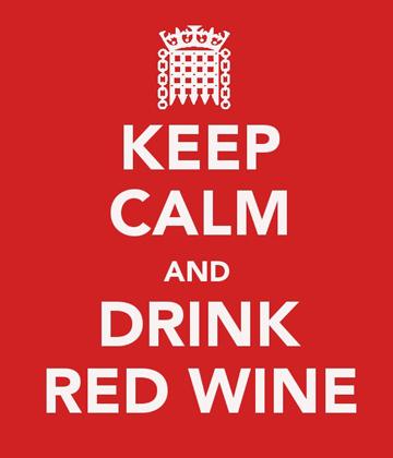 Keep calm - redwine