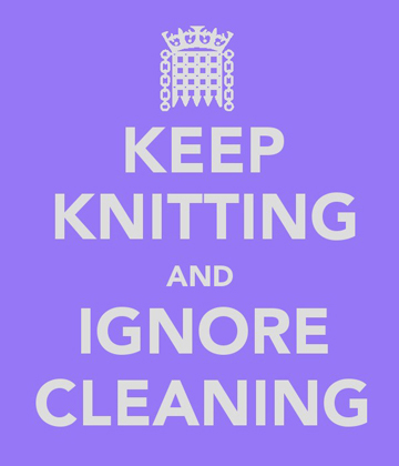 Keep Knitting logo mine
