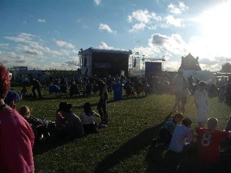 Tribfest - stage