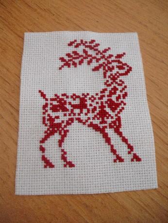 Reindeer ornie