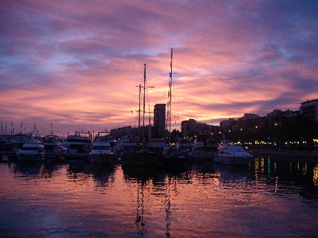 Spain - Alicante sunset