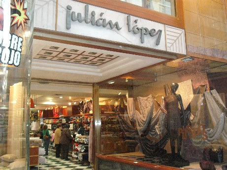 Spain - fabric shop