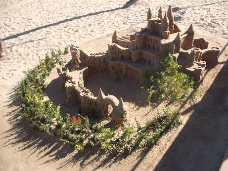 Spain - sandcastle