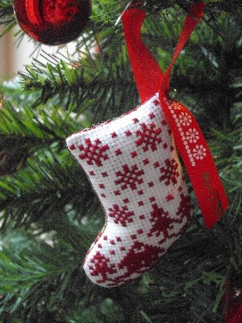 JBW stocking on tree
