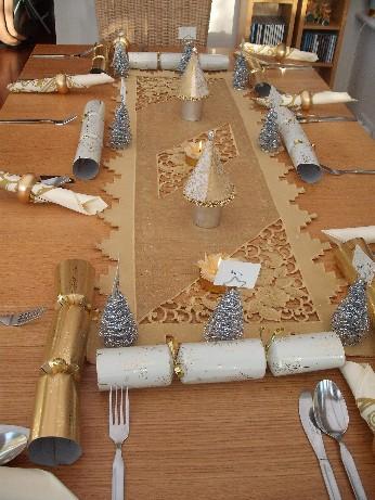 Xmas dinner table