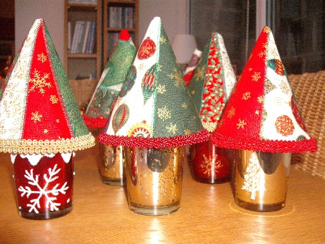 Xmas tree pot forest